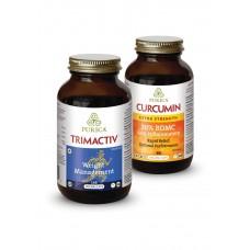 PURICA Trimactiv & PURICA Curcumin 30% BDMC