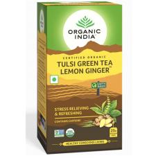 Tulsi Green Tea Lemon Ginger 25 Tea Bags
