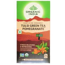 Tulsi Green Tea Pomegranate 25 Tea Bags