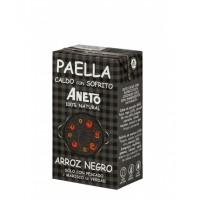 Aneto Natural Shellfish Broth for Black Rice Paella