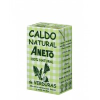 Aneto Natural Vegetable Broth